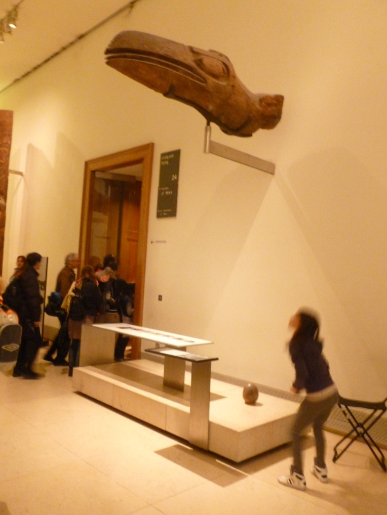 THE 5000th EGG WAS PLACED IN THE ETHNOGRAPHICAL ROOM IN THE BRITISH MUSEUM TO THE BEMUSEMENT OF A LITTLE GIRL.